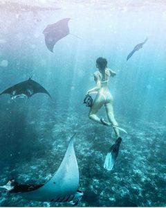 Diving at Nusa Penida