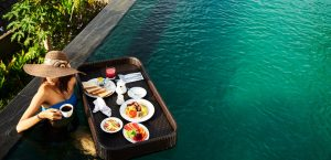 Floating Breakfast at The Acala